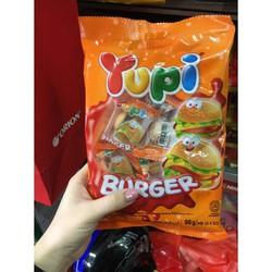 Combo 12 bịch kẹo Yupi burger 96gr