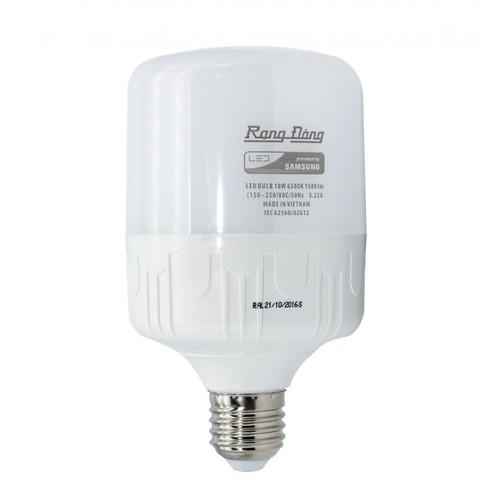 Bóng đèn Rạng Đông 80W LED Bulb trụ E27 Chip Led Samsung