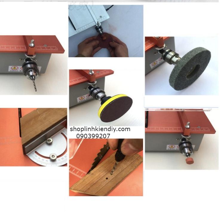 Máy cưa bàn mini 24v motor 795 3