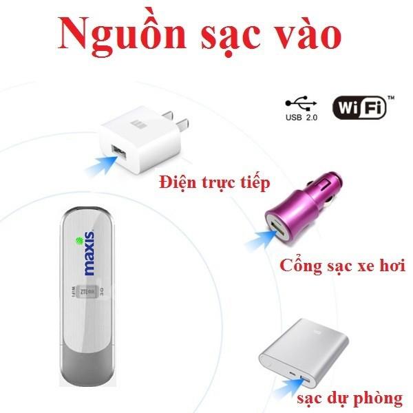 USB Phát Wifi 3G 4G Maxis MF70-Thiết kế nhỏ gọn phát wifi MẠNH 1