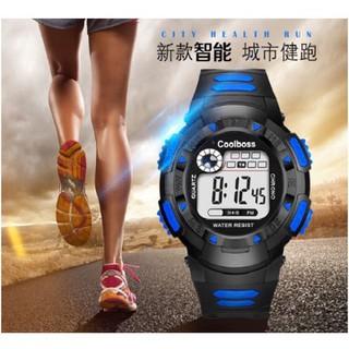 Đồng hồ trẻ em nam cao cấp Coolboss 1029 màu xanh đen - coll79 thumbnail