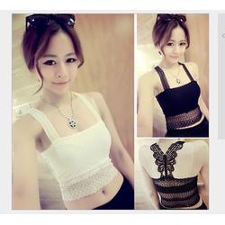 Áo ren 2 dây thời trangnhập Quảng Châu-Shop LucyLucy Ms453