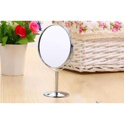 Gương- Gương trang điểm 2 mặt 1 mặt phóng to gấp 3 lần M2