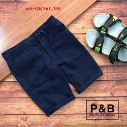 Quần short kaki thắt dây phong cách sành điệu QKN61