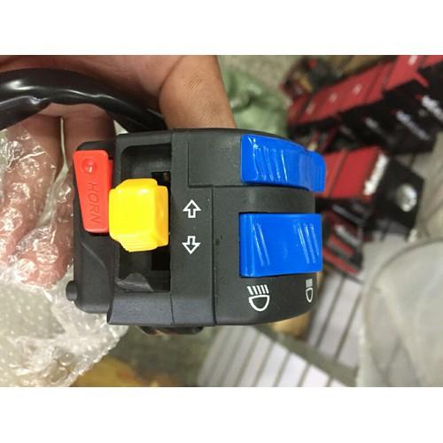Cùm công tắc FZ bên trái  kiểu k6 hàng hot - 4113841 , 10237002 , 15_10237002 , 195000 , Cum-cong-tac-FZ-ben-trai-kieu-k6-hang-hot-15_10237002 , sendo.vn , Cùm công tắc FZ bên trái  kiểu k6 hàng hot