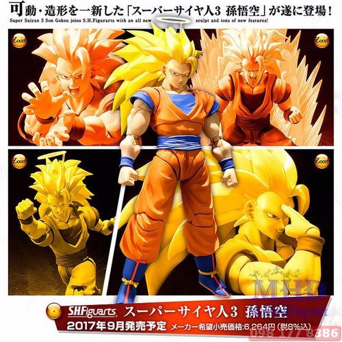 Mô hình Figma Son Goku SS3 - Dragon Ball