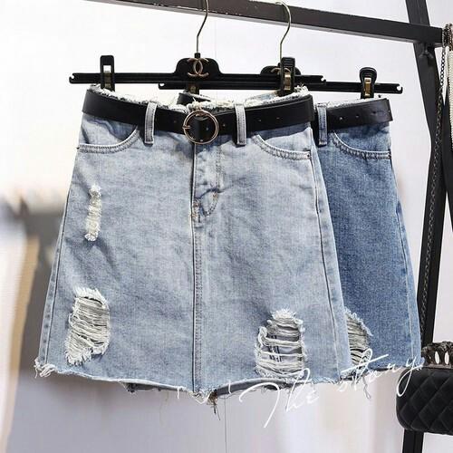 Chân váy jeans Hàn Quốc Cv0816