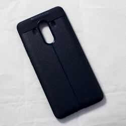 Ốp lưng sần Huawei Mate 10 Pro dẻo xanh đen