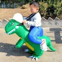 Bộ đồ khủng long phao bơm cho bé cưỡi
