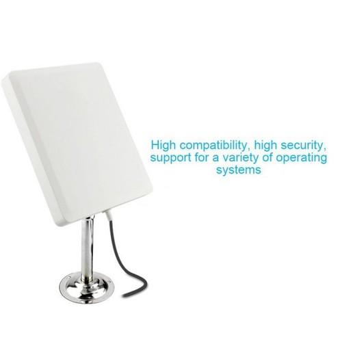 kích sóng wifi ngoài trời-Phát wifi 300mbps với thông số 20dBi