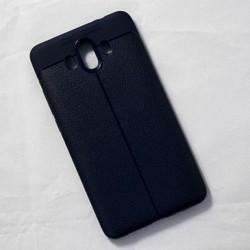 Ốp lưng sần Huawei Mate 10 dẻo xanh đen