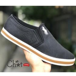 Giày Lười Nam Dáng Xỏ Da Cao Cấp