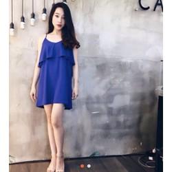 Váy 2 dây chất voan lụa siu xinh mát
