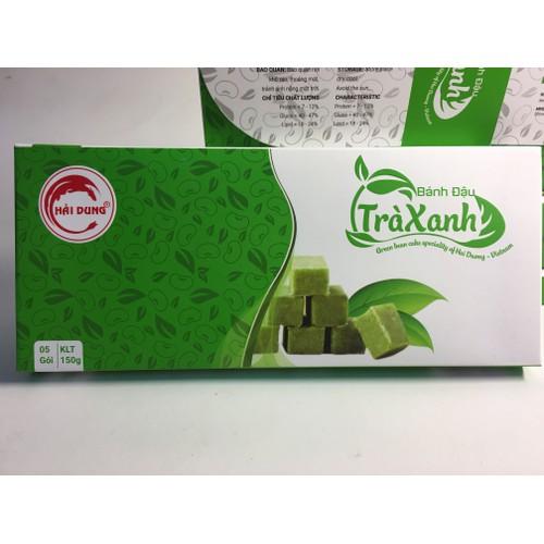 Bánh đậu trà xanh Hải Dung
