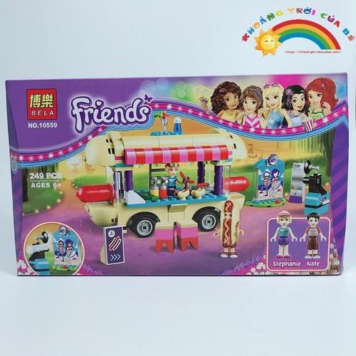 Bộ đồ chơi trí tuệ - Lắp Ghép Friend 10559 KB410