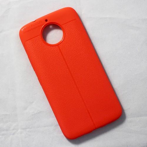 Ốp lưng sần Motorola G5s Plus dẻo cam