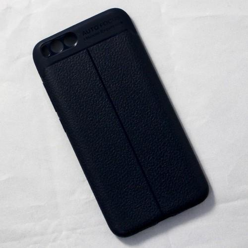 Ốp lưng sần Xiaomi Mi 6 dẻo xanh đen
