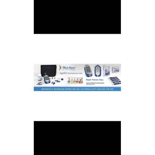 Máy đo đường huyết Sapphire Medismart
