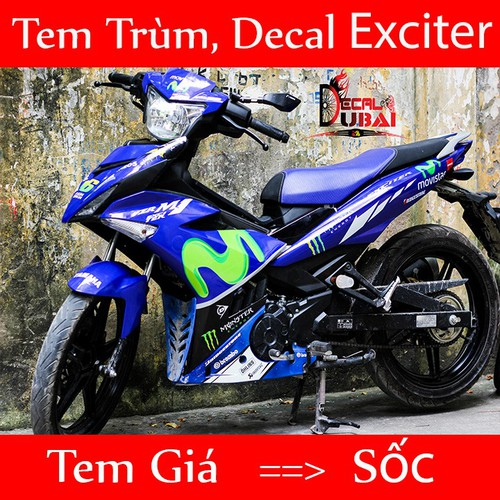 Tem xe Exciter 150