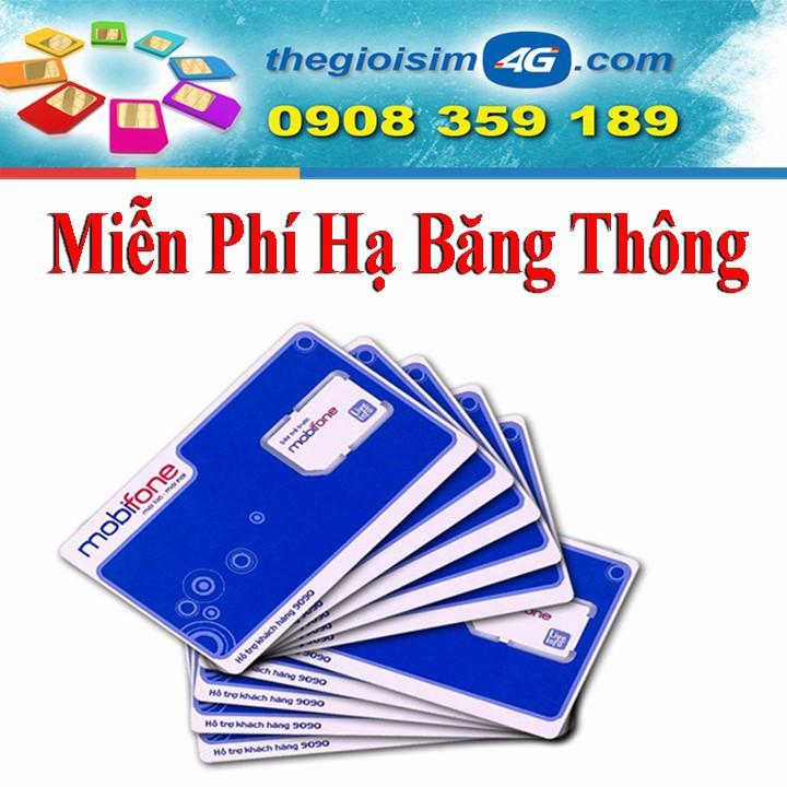 SIM 4G MOBIFONE TẶNG 150GB/THÁNG - TGS4G-150GB - 59K/Sim - 1