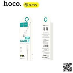 Cáp Sạc Nhanh IPhone 8 HOCO - X15