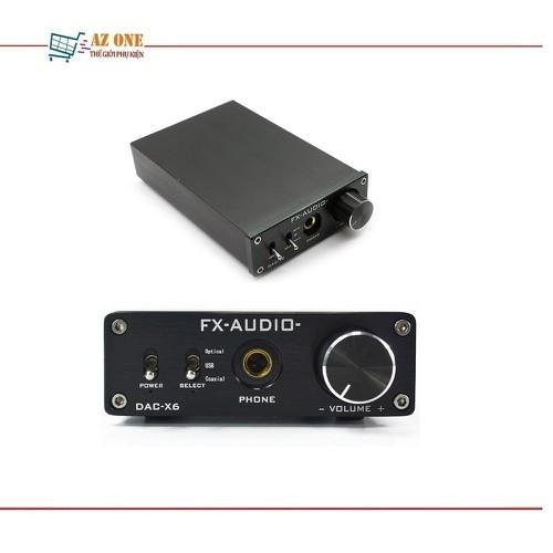 DAC Giải Mã Âm Thanh Lossless 24bit FX-Audio DAC X6