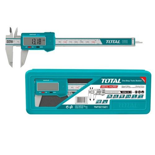 TOTAL - 0-150MM THƯỚC CẶP ĐIỆN TỬ - TMT321501 - 4107852 , 10228491 , 15_10228491 , 495000 , TOTAL-0-150MM-THUOC-CAP-DIEN-TU-TMT321501-15_10228491 , sendo.vn , TOTAL - 0-150MM THƯỚC CẶP ĐIỆN TỬ - TMT321501