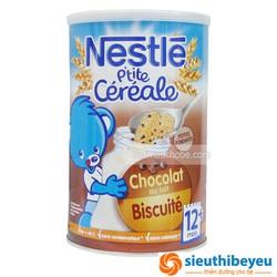 Bột lắc sữa Nestle 12m  Socola-bích quy 400g