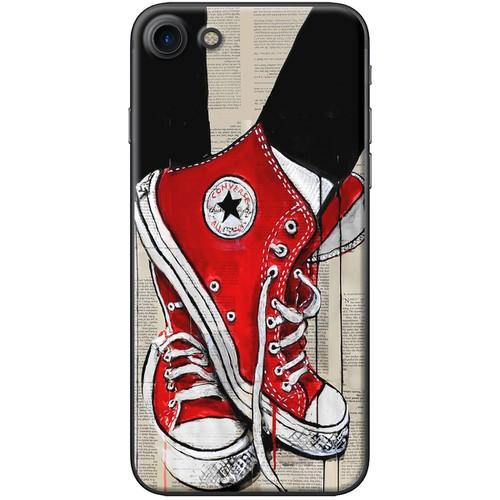 Ốp lưng nhựa dẻo iPhone 6 Plus, 6S Plus Giày đỏ