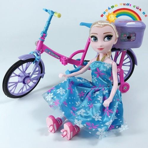 Mô hình xe công chúa Elsa KD151