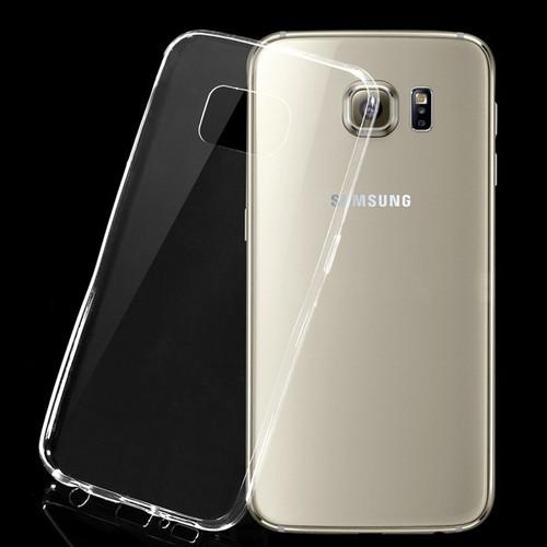 Ốp lưng Samsung Galaxy S6 EDGE dẻo, trong suốt