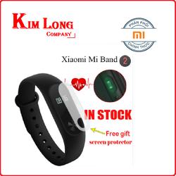 Vòng đeo tay Xiaomi  Miband 2 Đen - mi band 2 - Chính hãng Digiworld