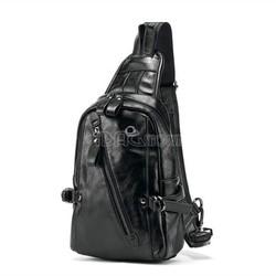 Túi Đeo Chéo – Chất Liệu Da – Màu Đen – Mã DP227