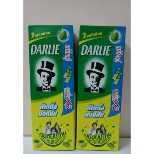 Kem đánh răng Darlie Thái Lan - Hộp 2 tuýp hương bạc hà - 4123949 , 10253607 , 15_10253607 , 69000 , Kem-danh-rang-Darlie-Thai-Lan-Hop-2-tuyp-huong-bac-ha-15_10253607 , sendo.vn , Kem đánh răng Darlie Thái Lan - Hộp 2 tuýp hương bạc hà
