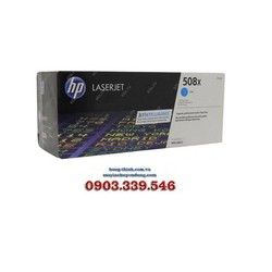 Mực In HP508X - CF361X High Yield Cyan LaserJet Toner Cartridge