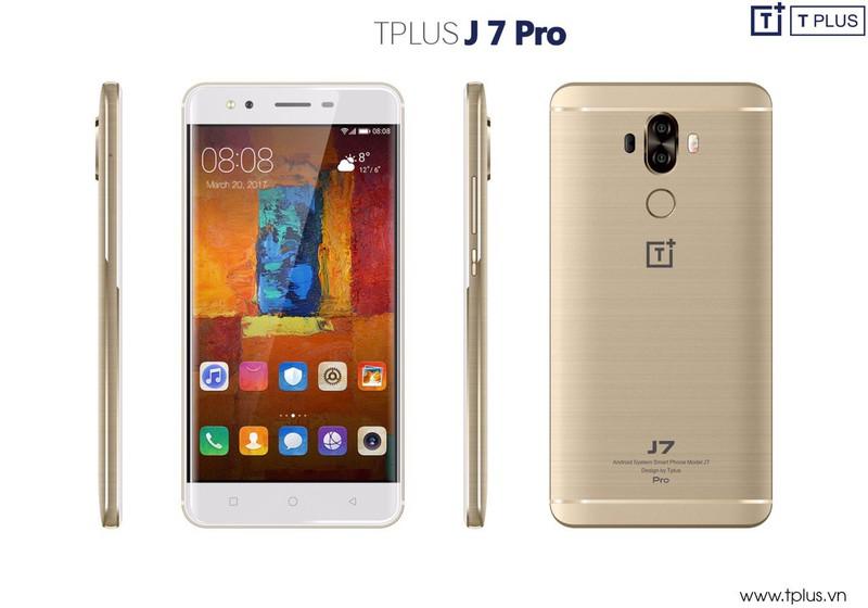 Điện thoại TPLUS J7 Pro chính hãng - Tinh hoa hội tụ 5