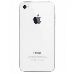 Ốp lưng iPhone 4 - 4s dẻo, trong suốt