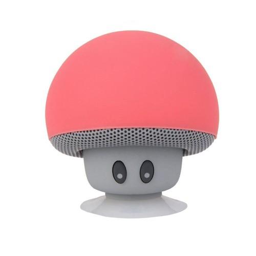 Loa Hình Nấm Bluetooth Speaker Mini Hỗ Trợ Điện Thoại Di Động - Đỏ