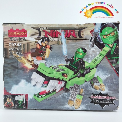 Lắp ghép thông minh Lucky Ninja KD155 - 4122361 , 10251083 , 15_10251083 , 264000 , Lap-ghep-thong-minh-Lucky-Ninja-KD155-15_10251083 , sendo.vn , Lắp ghép thông minh Lucky Ninja KD155