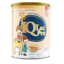 Tặng 1 gối đa năng trị giá 60k - Sữa IQLac Pro Cao Lớn 900g