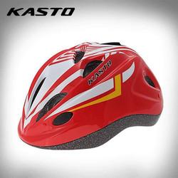 Nón bảo hiểm thể thao trẻ em Kasto _ màu đỏ