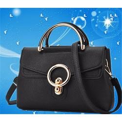 Túi xách nữ khóa tròn - hàng nhập loại 1
