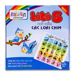 Đồ chơi truyền thống Lô Tô dành cho bé tìm hiểu về loài chim
