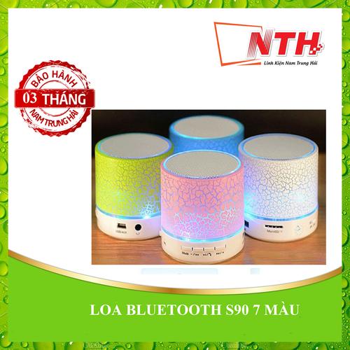 Loa bluetooth s90 7 màu