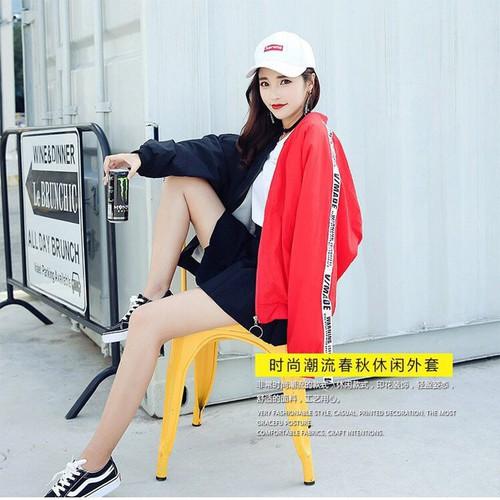 Áo khoác dù nữ