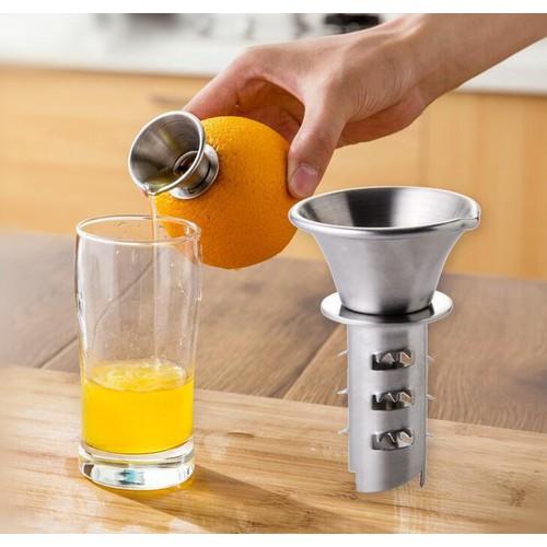 Dụng cụ chiết vắt nước chanh, cam, táo, thơm, dứa, trái cây