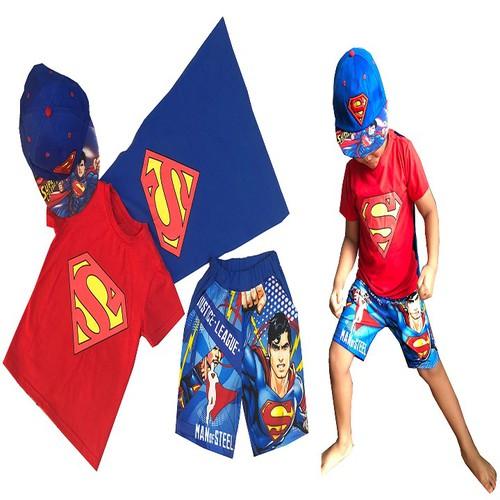 BỘ QUẦN ÁO SUPER MAN 4 CHI TIẾT