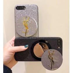 Ốp lưng đính đá kèm gương IPhone 6