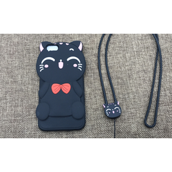 Ốp lưng cho iphone 4*4s mới*kèm dây  đeo cổ như hình