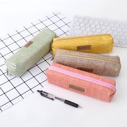 Hộp bút vải Bowei kiểu Hàn đơn giản cá tính